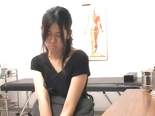 Japanese Babe Gets Her Cunny Examed By A Pervy Gyno