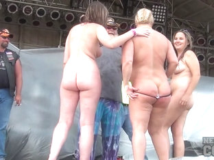 Abate Of Iowa 2015 Thursday Finalist Hot Chick Stripping Contest At The Freedom Rally - Nebraskaco.