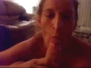 A Nice Fucking Facial On Blonde Wife