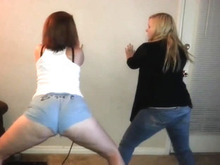 Superlatively Good Twerking Web Camera Legal Age Teenager Movie Scene