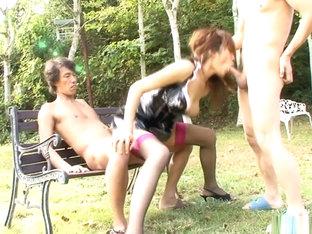 Incredible Japanese Girl Asuka Ishihara In Exotic Jav Uncensored Blowjob Movie