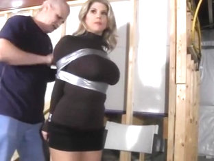 Carissa Montgomery In Basement