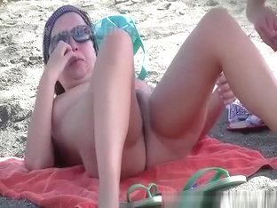 Nudist Woman With Small Bush Pussy