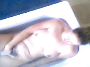Girlfriend Acquires Filmed On Spy Camera Masturbating In The Bathtub