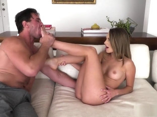 Brunette With A Fine Ass Trades Head And Gets Nailed By His Big Dick