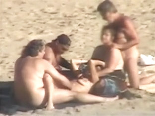 Group Sex At Nudist Beach