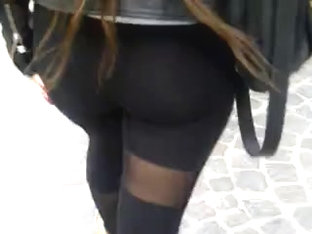 Leggin See Through