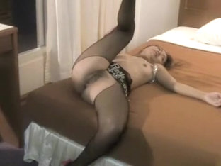 Sexy Little Lisa Min Puts On One Hell Of A Hot Tease In Her Lingerie
