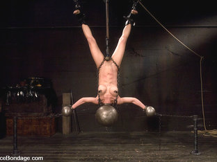 Tia Ling In Tia Ling Inverted, Suspended, Tortured, As Her Rock Hard Bodyis Sexually Abused - Devi.