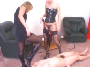 Russian-mistress Video: Madame Margo & Irina Onyx