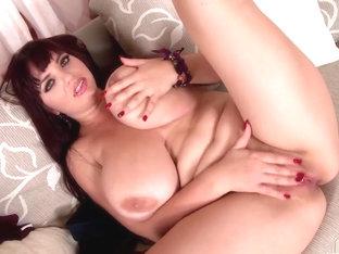 Crazy Pornstar Joanna Bliss In Amazing Solo, Masturbation XXX Clip