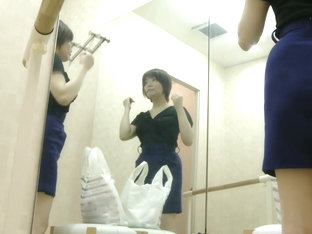 Girl In Dressing Room Caught Topless Before Wearing Tricot