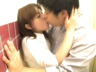 Japanese Couple Has Sex In Bathroom In Spy Cam Porn Movie