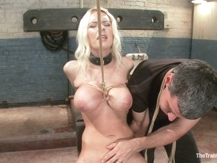 The Training Of A Big Tit, Bleach Blonde Porn Star, Day One - Thetrainingofo