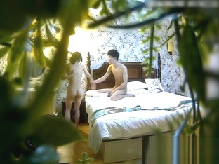 Young Beautiful Beauty Hotel Is Cocked By A Big Boyfriend