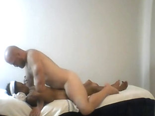 Muscled Masseur Fucks Ebony Milf Massage Client
