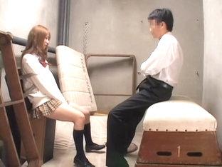 Lovely Jap Blows On A Boner In A Hidden Cam Sex Video