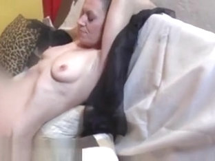 Cumshot On Tits In Real Backstage Clip