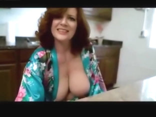 Redhead Mom Sucks Cock