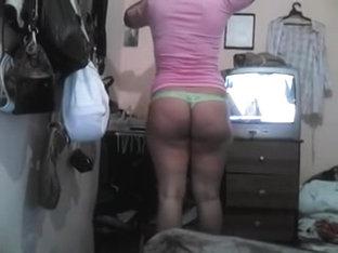 Latin Ass In Thong