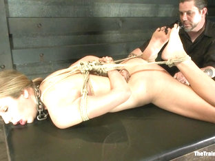Training Chastity Lynn-day 2 - Thetrainingofo