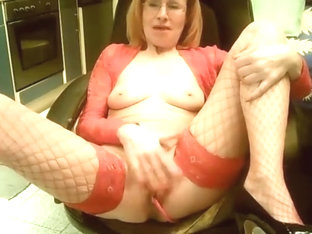Grandma With Red Undies
