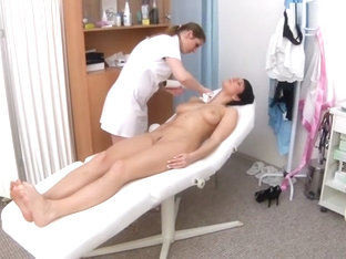 Czech Babe Big Tits Medical Exam (the Nurse Is Really Hot!!!)