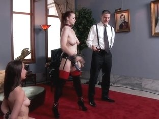 Ms Rossi And The Anal Trainee Slave