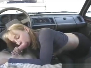 Homemade, Blowjob In A Car, Loads Of Sperm