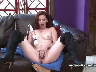 Exotic Pornstar Emma Evins In Fabulous Small Tits, Dildos/toys Porn Clip