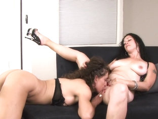Incredible Pornstar In Amazing Blowjob, Lesbian XXX Clip