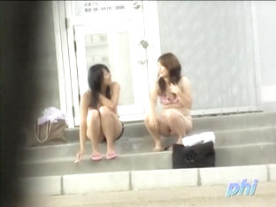 Attractive Asian Babes Violated By A Bikini Sharker