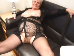 Old Granny In Nylons