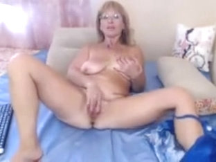 Hot Granny With Big Saggy Tits On Webcam