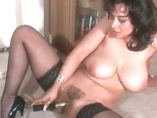 Sexy British Mother I'd Like To Fuck Danica Collins Teasing With Sex Toy