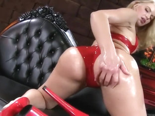 Red Latex Tease