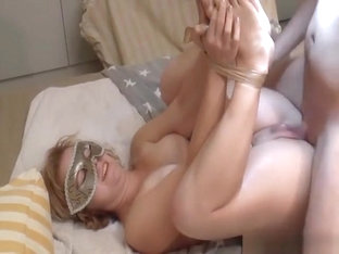 Blonde Wife Is Plugged With Foxtail And Fucked In All Holes Hard & Deep