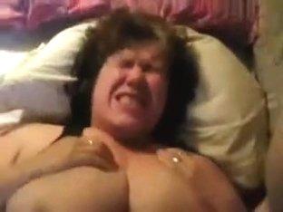 I Bang This Fucken Old Slut Like A Drum