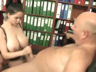 Secretary Fuck Old Boss