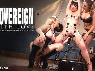 Chanel Preston  Sovereign Syre  Aiden Starr In Electrosluts Presents: To Sovereign With Love - Ele.