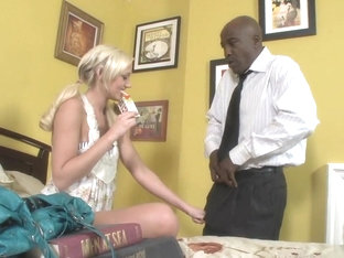 Crazy Pornstar Molly Rae In Best Interracial, Creampie Sex Scene