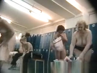 Older Womens In A Locker Room
