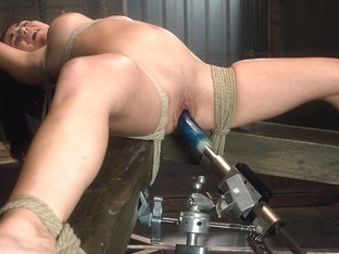 Crazy Fetish Sex Clip With Amazing Pornstar Holly West From Fuckingmachines