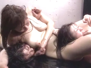 Hottest Japanese Girl Eri Makino, Tsubaki Katou, Ayaka Takigawa In Fabulous Close-up, Fingering Ja.