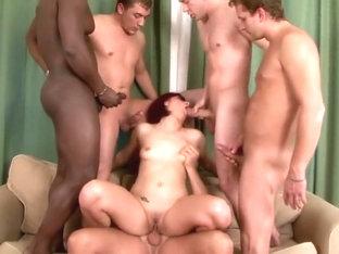 Exotic Pornstar Lucy Belle In Fabulous Blowjob, Cumshots XXX Video