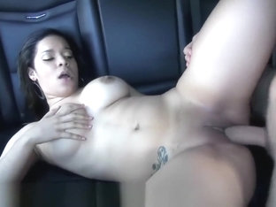 Reality Kings - Brianna Bella Show Off Her Booty In The Backseat