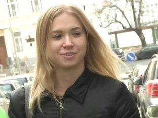 Best Pornstar Violette Pure In Horny Blonde, College XXX Movie