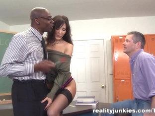 Incredible Pornstar In Horny Pornstars, Stockings Sex Movie