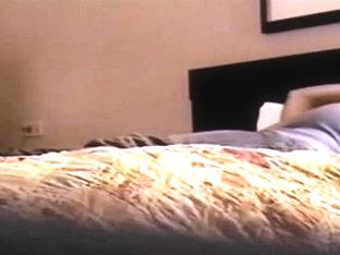 Girl Watches Porn And Masturbates On Spycam