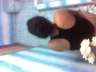Hija En El Toilet